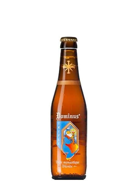 Пиво светлое Dominus Triple Blonde фильтрованное пастеризованное 8% 0,33 л.