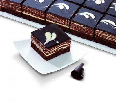 Пирожные Erlenbacher Шоколадный мусс 24кус/уп, Германия