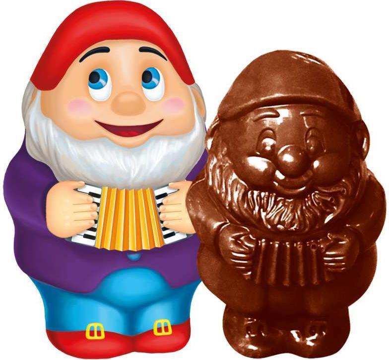 Шоколад Гномик новогодний