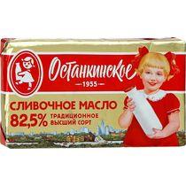 Сливочное масло Останкинское 82,5 % 180 г