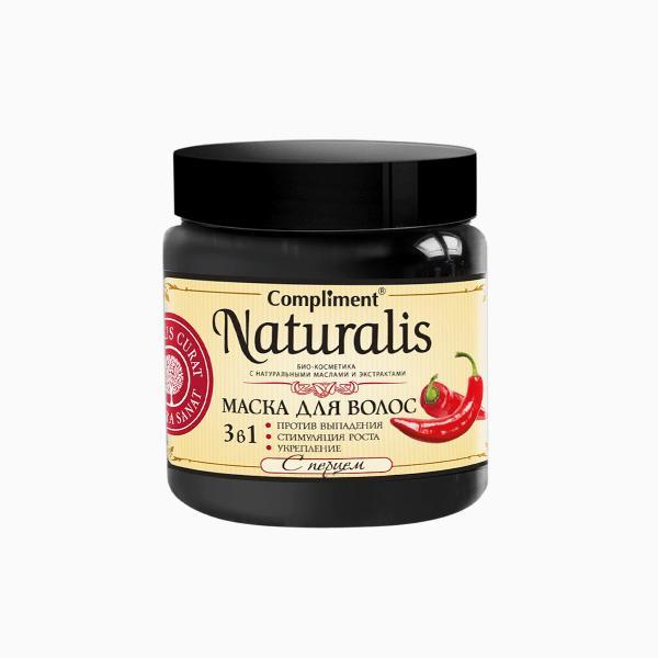 Маска для волос Compliment Naturalis 3в1 с перцем