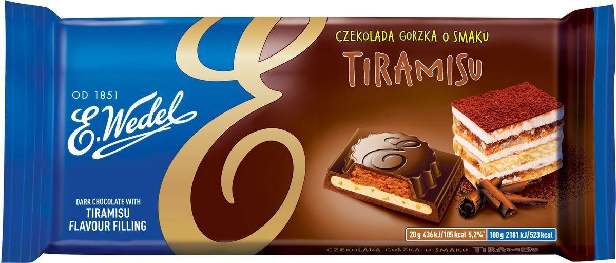 Шоколад E.Wedel тирамису