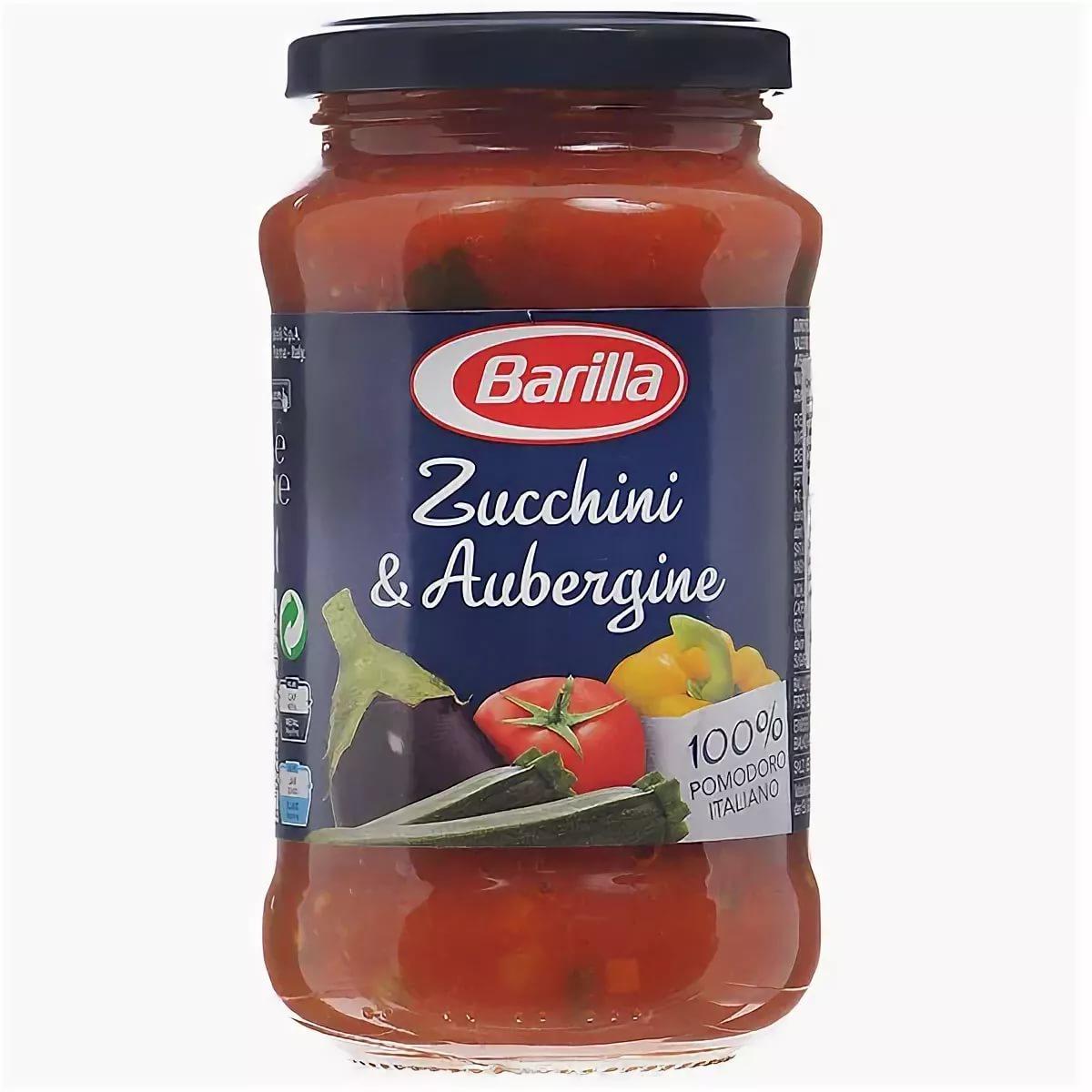 Соус Barilla Sugo Zucchini & Aubergine