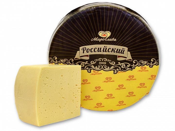 Сыр Мирослава Российский 50%