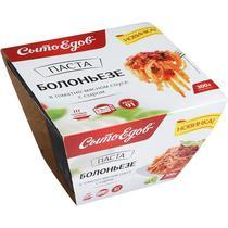 Паста Болоньезе с мясным-томатным соусом и сыром, Сытоедов
