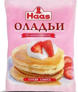 Оладьи Haas по-домашнему сухая смесь