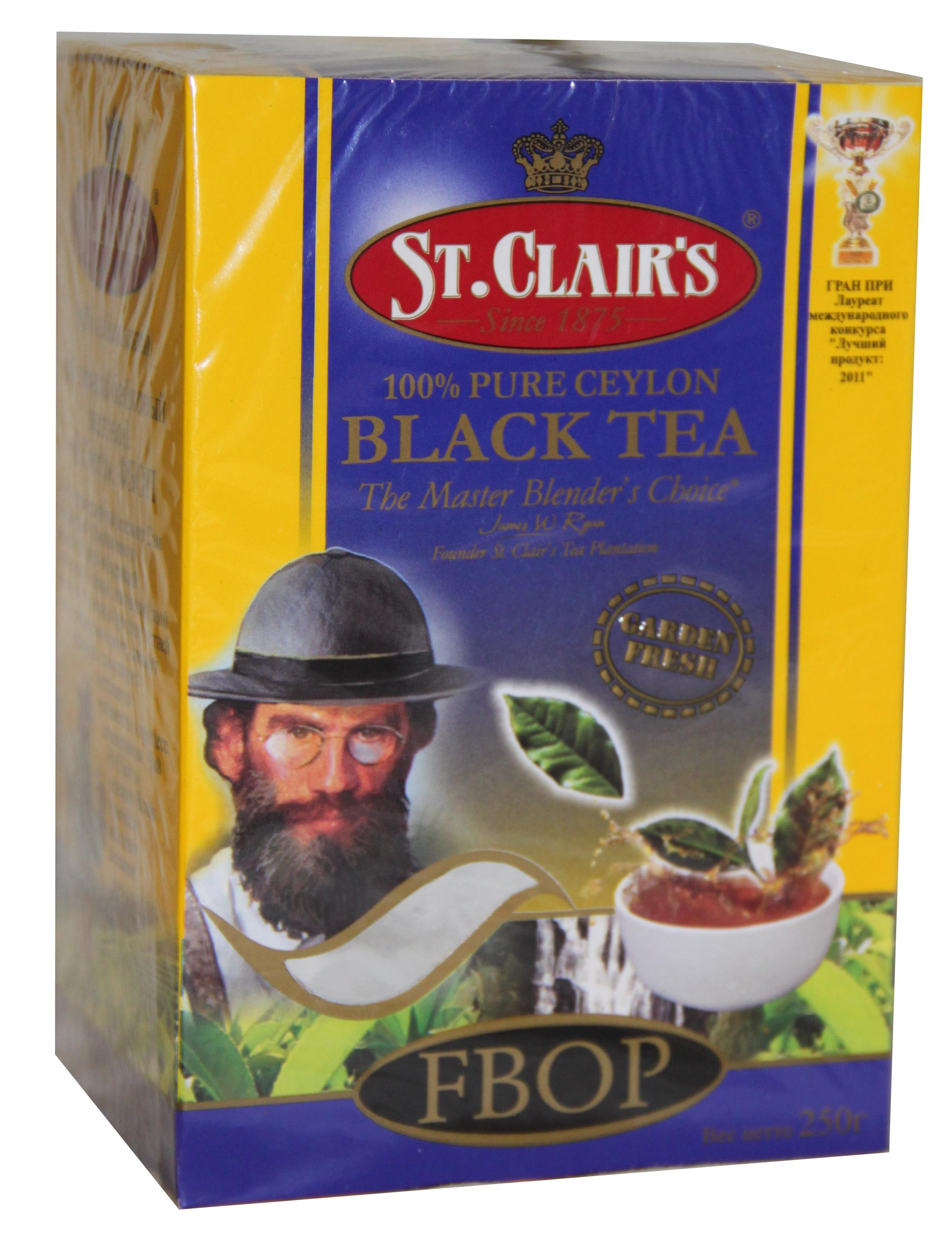 Чай черный St.clair's FBOP