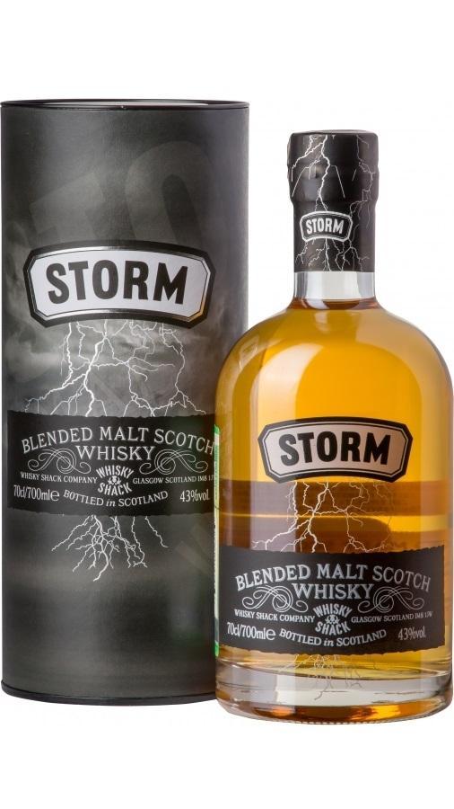 Виски Сторм Блендед Молт в п.у. / Storm Blended Malt in Gift Tube, 3 года, Шотландия