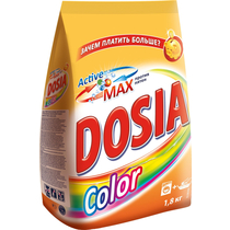 Стиральный порошок Dosia Color для всех типов стирки для цветного белья