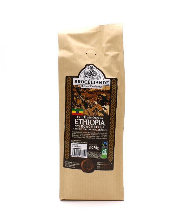 Кофе Brocelliande Эфиопия в зернах