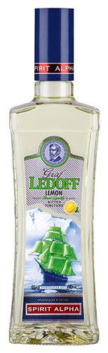 Настойка Graf Ledoff с ароматом лимона горькая 40%