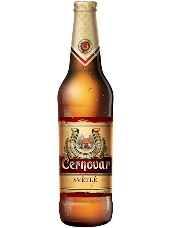 Пиво Cernovar Svetle светлое 4,9%