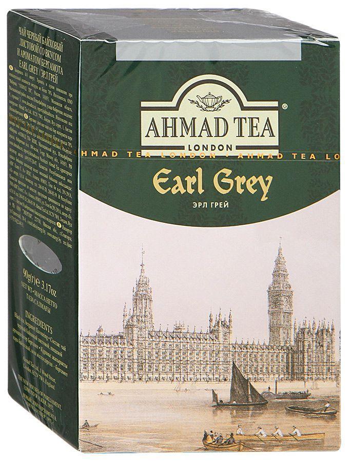 Чай Ahmad Tea Earl Grey черный листовой