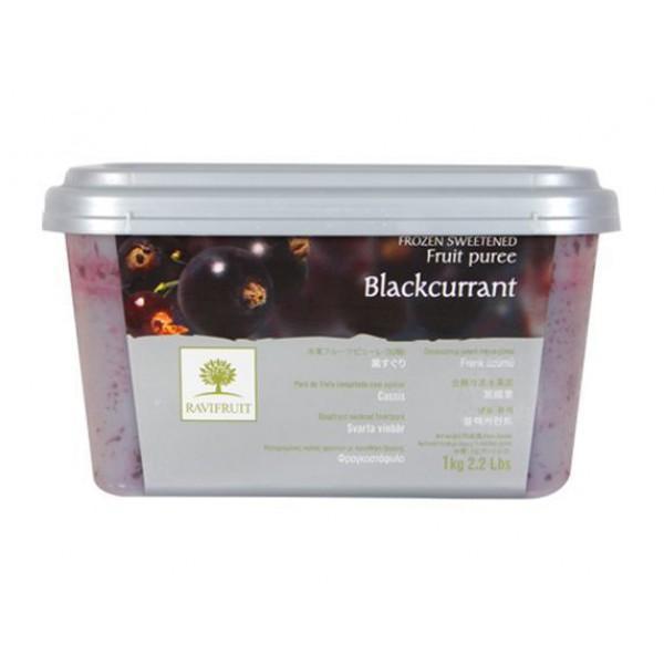 Пюре Ravifruit из черной смородины с/м 10% сахара, Франция