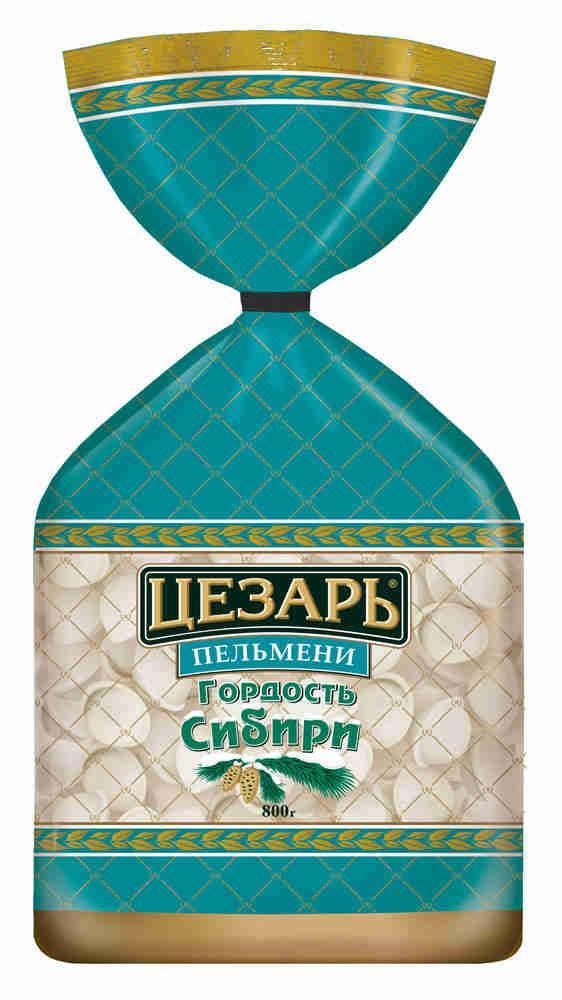 Пельмени Цезарь Гордость Сибири