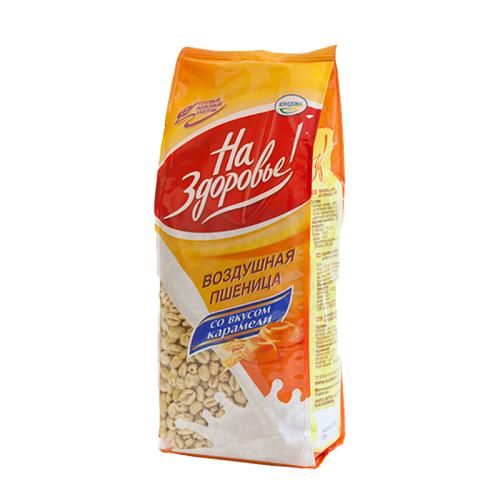Воздушная пшеница На Здоровье Со вкусом карамели