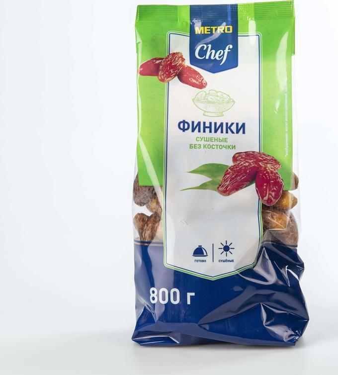 Финик Metro Chef сушеный без косточки