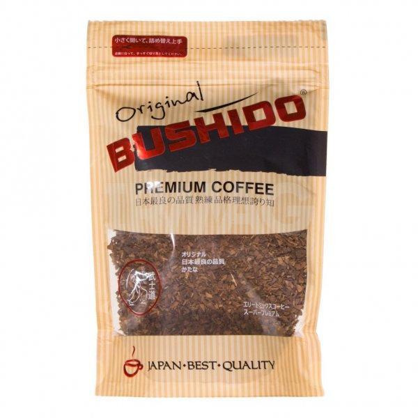Кофе Bushido Original сублимированный растворимый