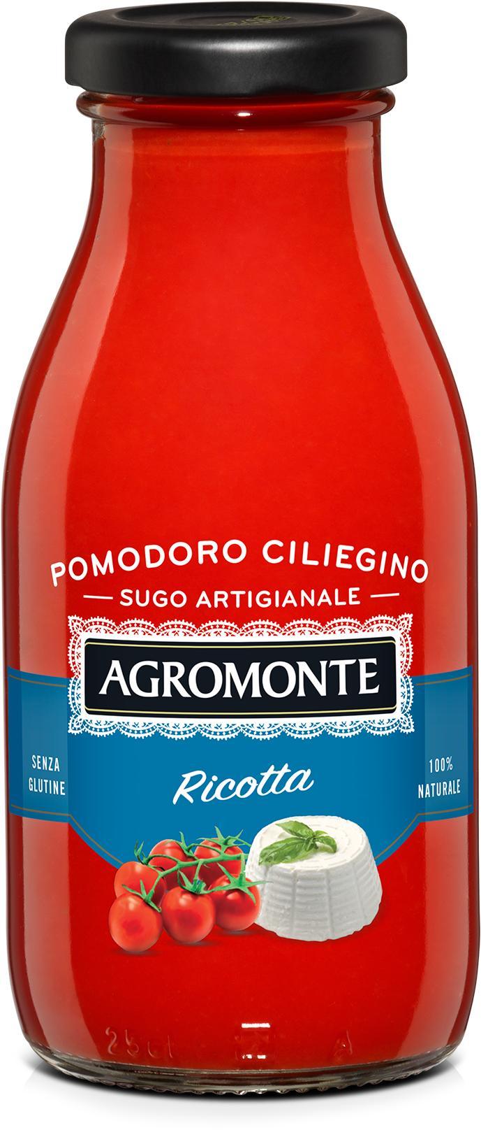 Соус Agromonte Ricotta Томатный