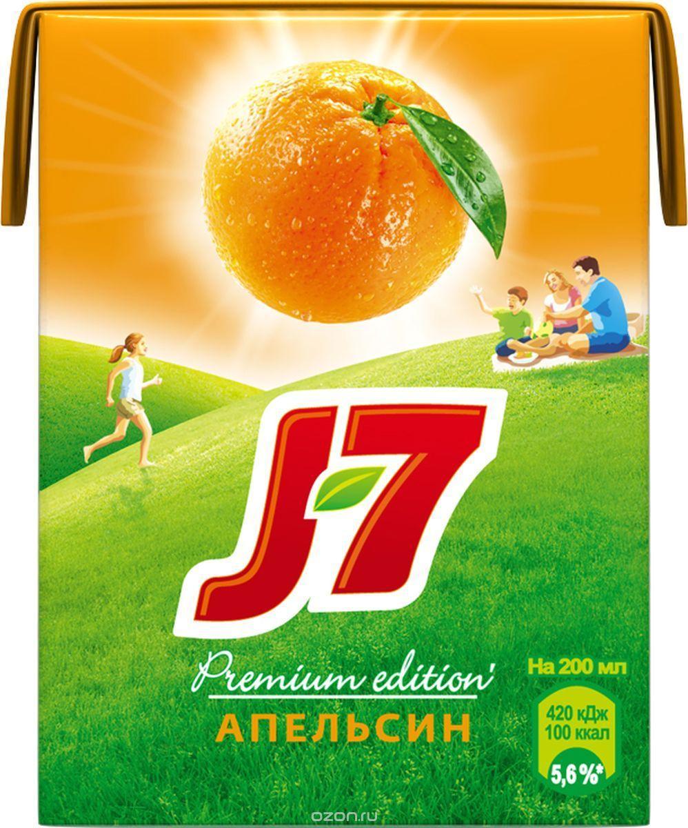 Cок J7 Апельсин с мякотью