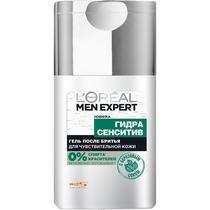 Гель после бритья L'Oreal Paris Men Expert Гидра сенситив Для чувствительной кожи С березовым соком