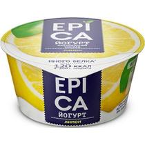 Йогурт EPICA 4.8% 130г с лимоном ф-12