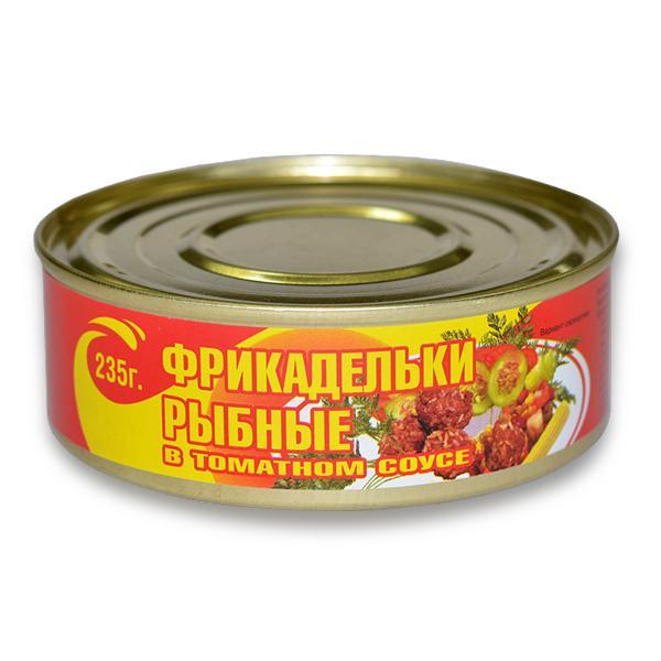 Фрикадельки Фаворит рыбные в томатном соусе