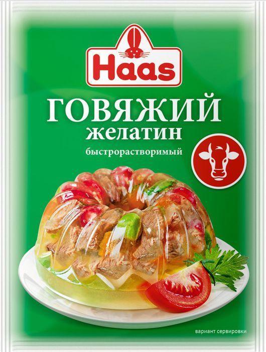 Желатин Haas говяжий