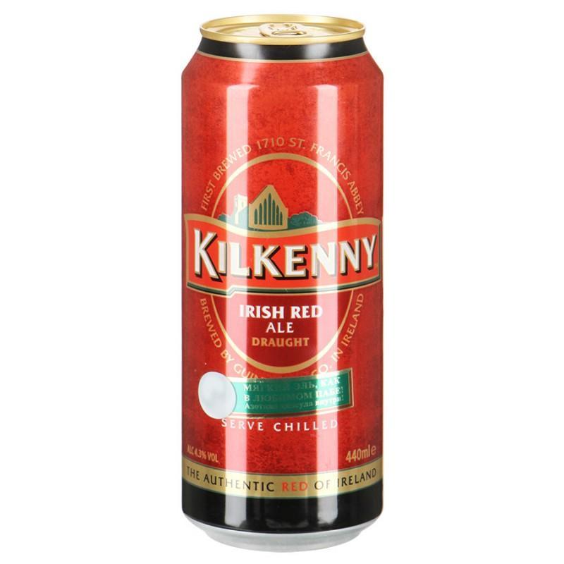 Пиво Kilkenny Draught Темное с азотной капсулой 4,3%