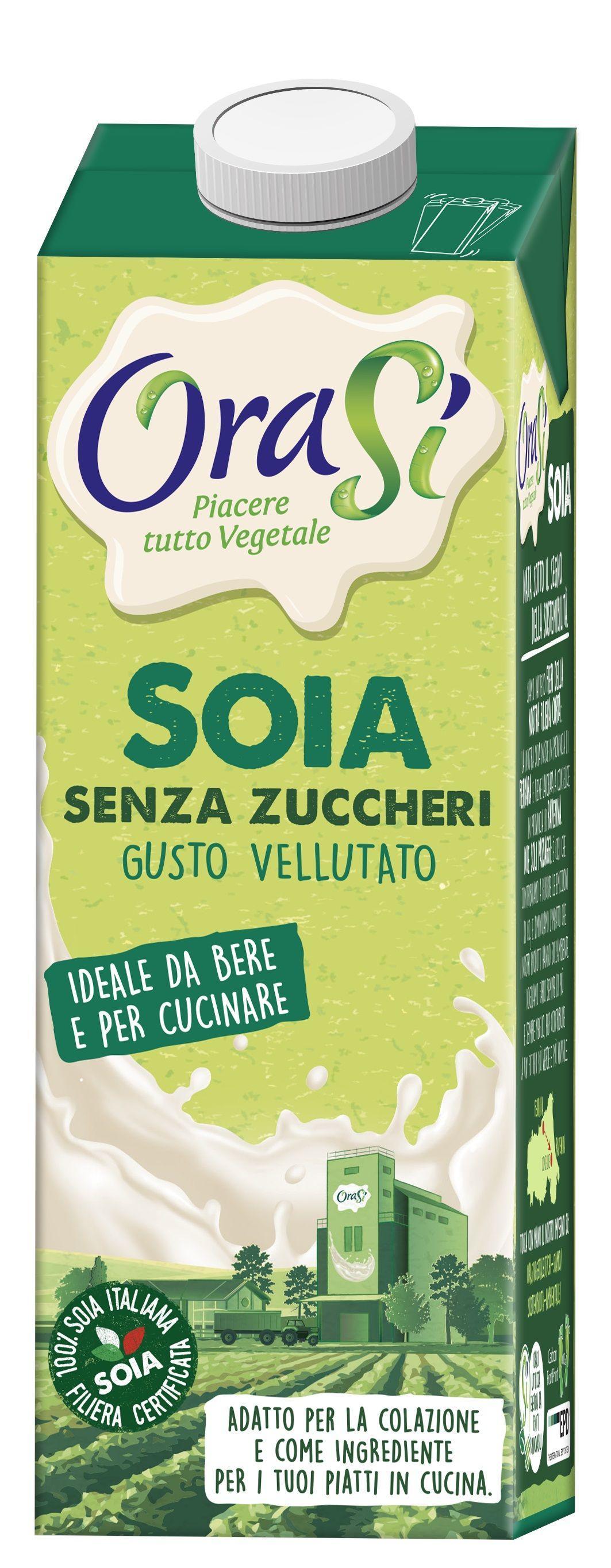 Соевое молоко Orasi с витаминами и кальцием