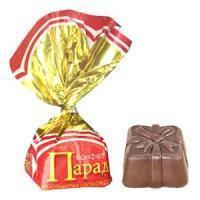 Конфеты Славянка Парад шоколадные
