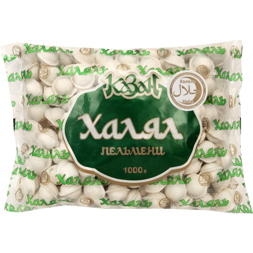 Пельмени Казан Халял, 1 кг.*10