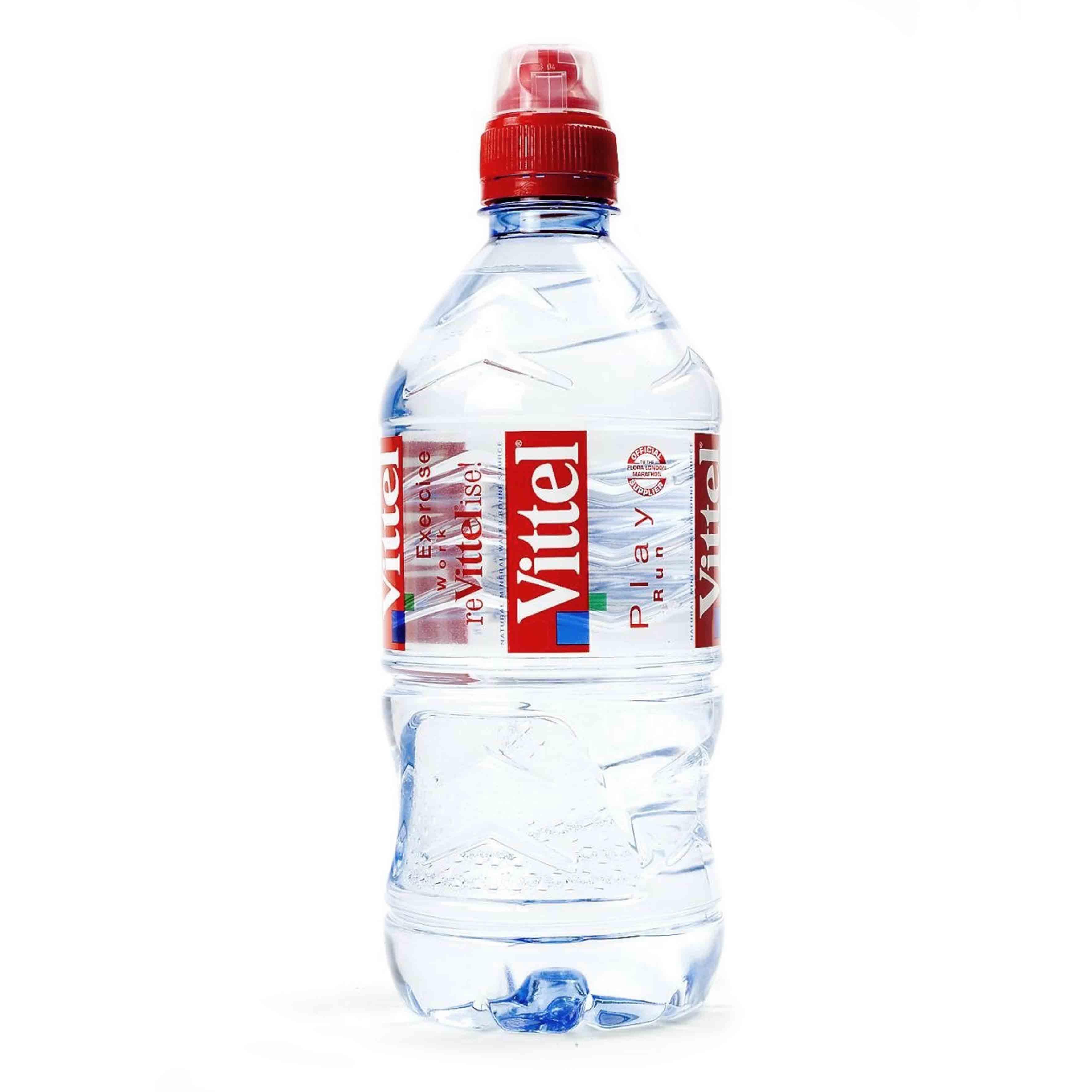 Минеральная вода Vittel sport cap
