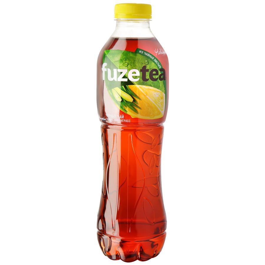 Чай FuzeTea черный со вкусом лимон-лемонграсс