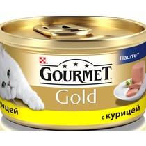 Корм Gourmet Gold для кошек жареная курица