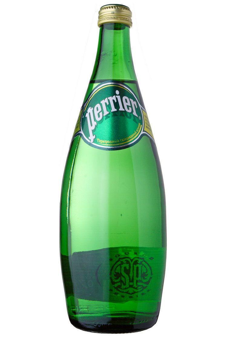 Вода минеральная Perrier природная питьевая газированная