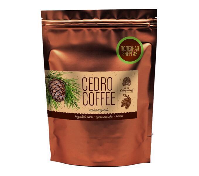 Напиток Сибирский кедр Cedro Coffee шоколадный