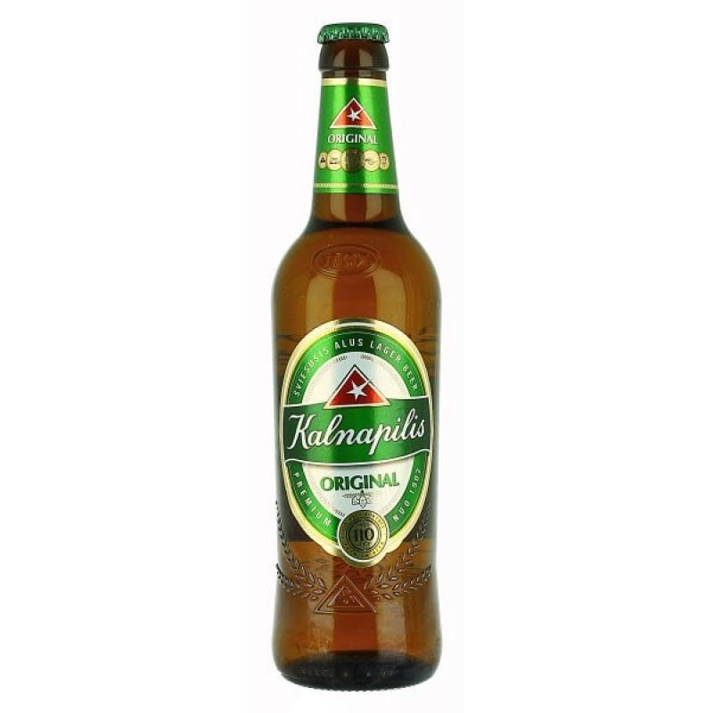 Пиво Kalnapilis Original светлое 5%