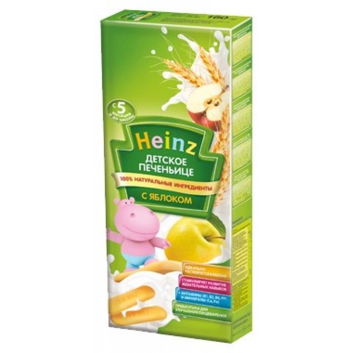 Печенье Heinz детское с бананом и яблоком с 6 месяцев