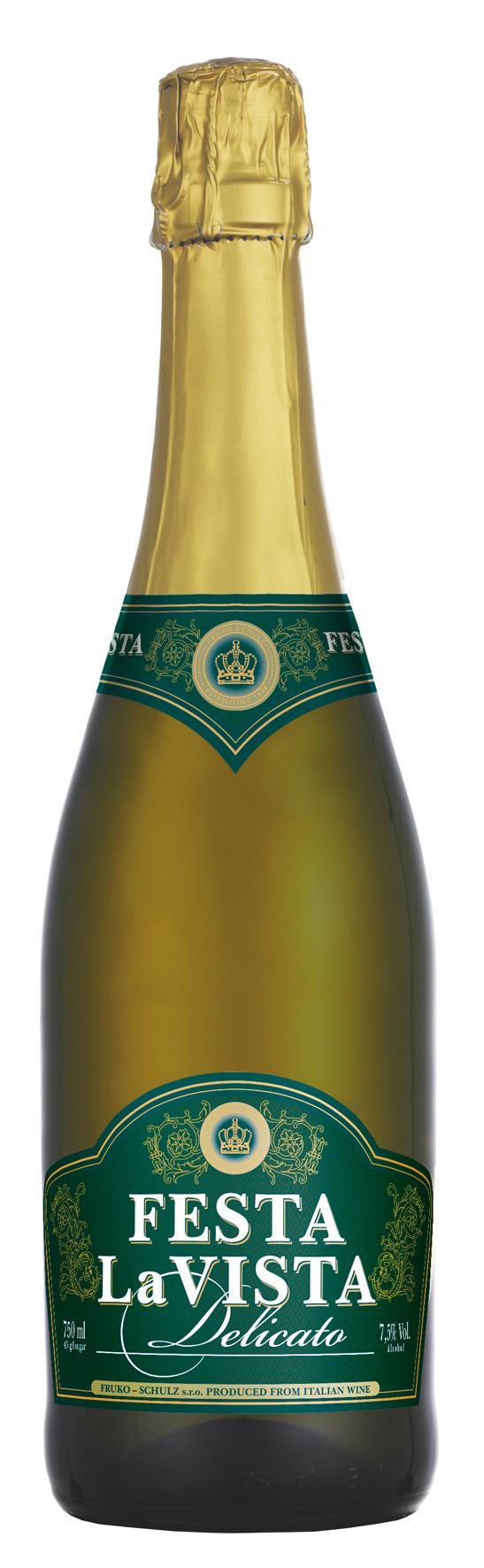 Напиток винный газированный «Феста ла Виста Деликато», Россия
