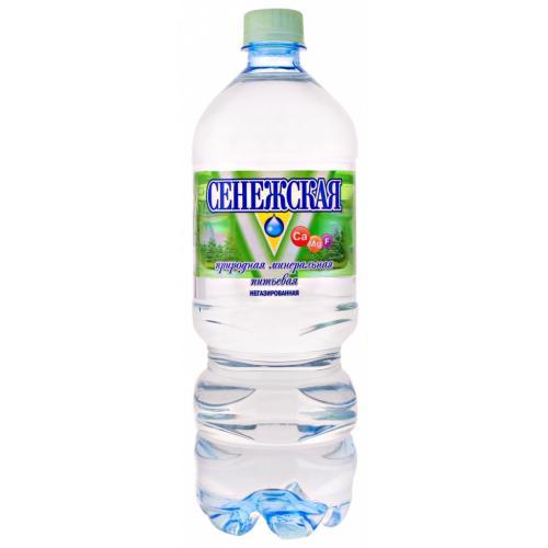 Вода минеральная Сенежская природная питьевая негазированная