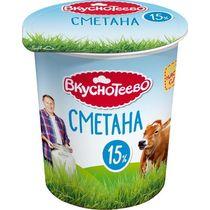 Сметана Вкуснотеево 20 % 300 г