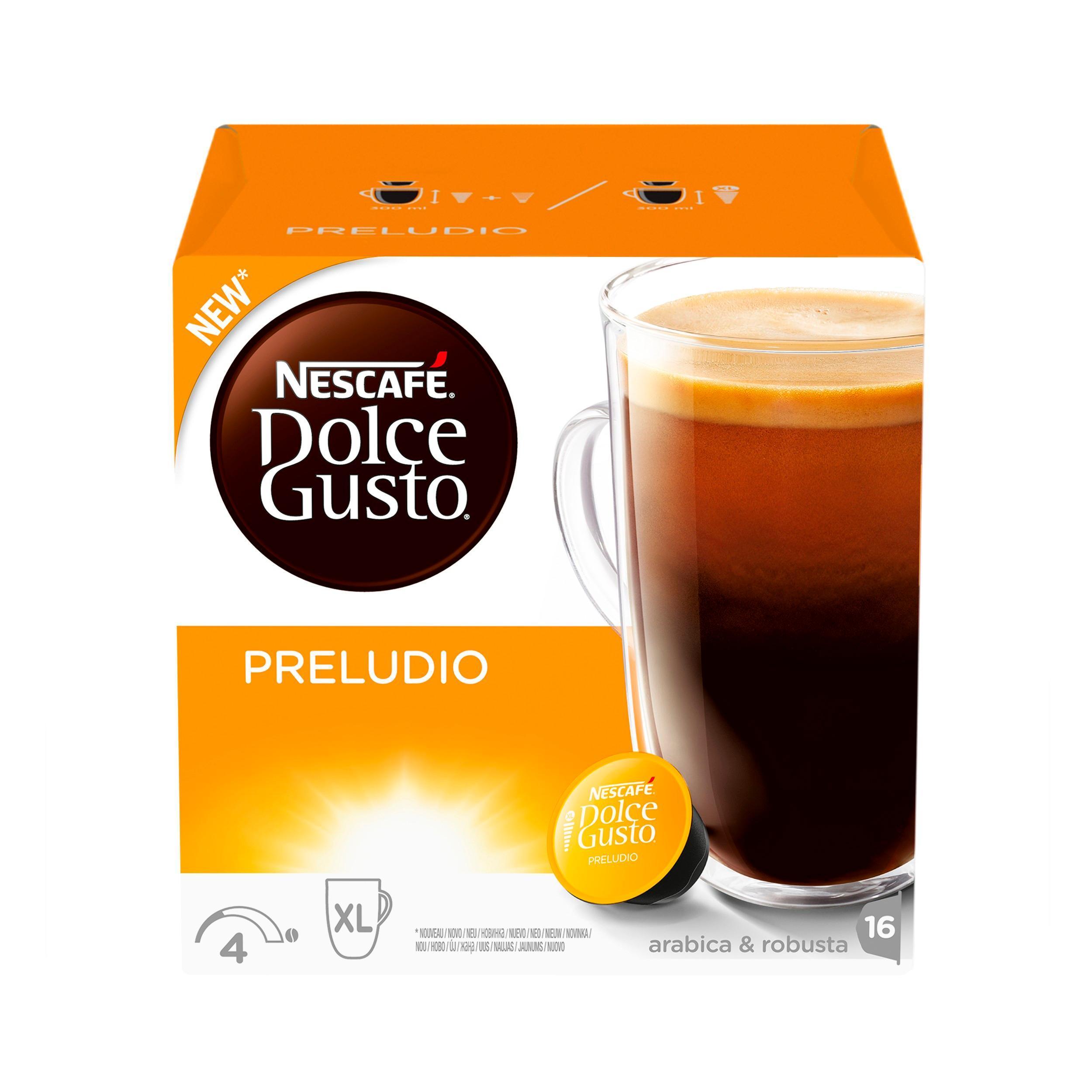 Кофе Nescafe Dolce Gusto Preludio в капсулах