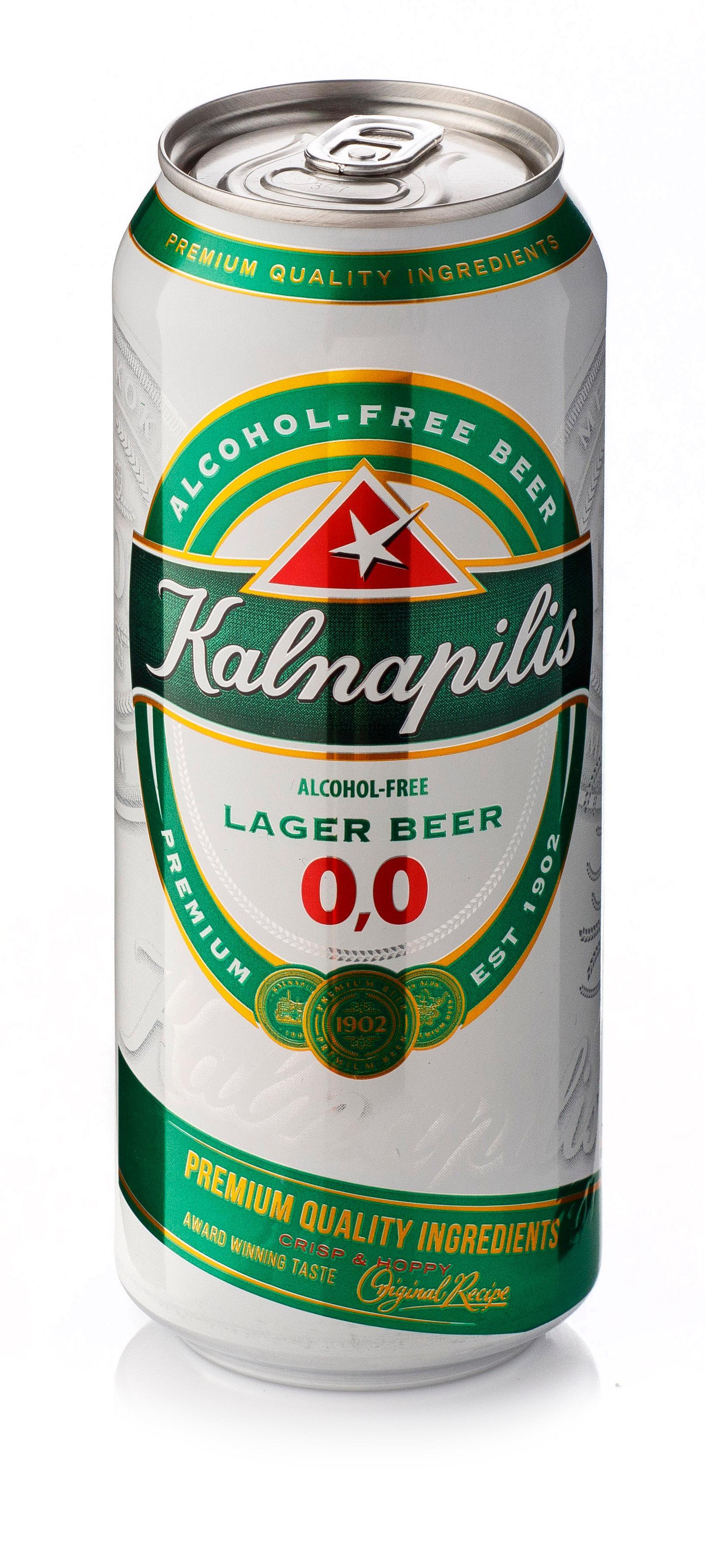 Пиво Kalnapilis безалкогольное