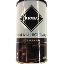 Горячий шоколад Rioba порошок 50% какао