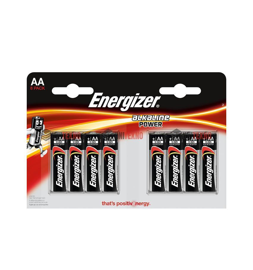 Батарейка Energizer алкалиновая Power  AAA