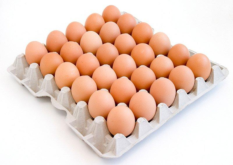 Яйцо Пошехонская п/ф столовое Светло- коричневое, 240 шт