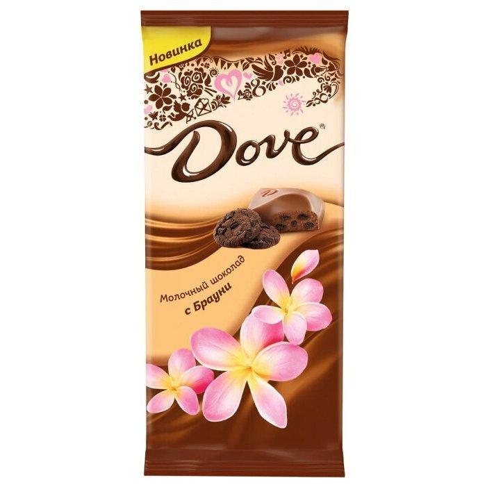 Шоколад Dove молочный с брауни