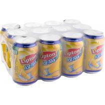 Напиток безалкогольный холодный чай Lipton Лимон 0,33 л.