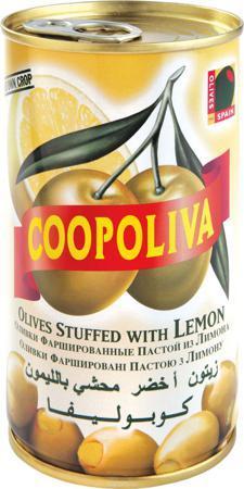 Оливки Coopoliva с лимоном